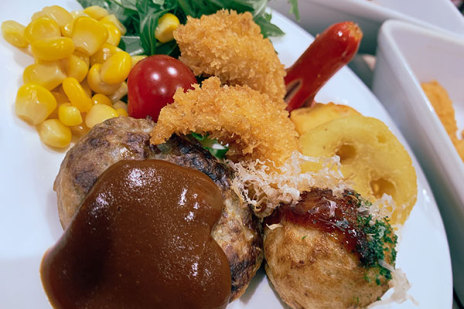 New Year special buffet at the Hotel Keihan Kyoto Grande